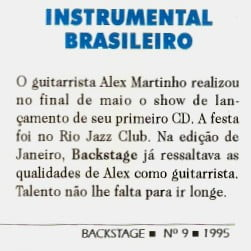 CD 'Alex Martinho' (1994)