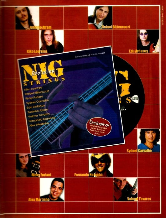 CD promocional 'Nig Strings' (2002)