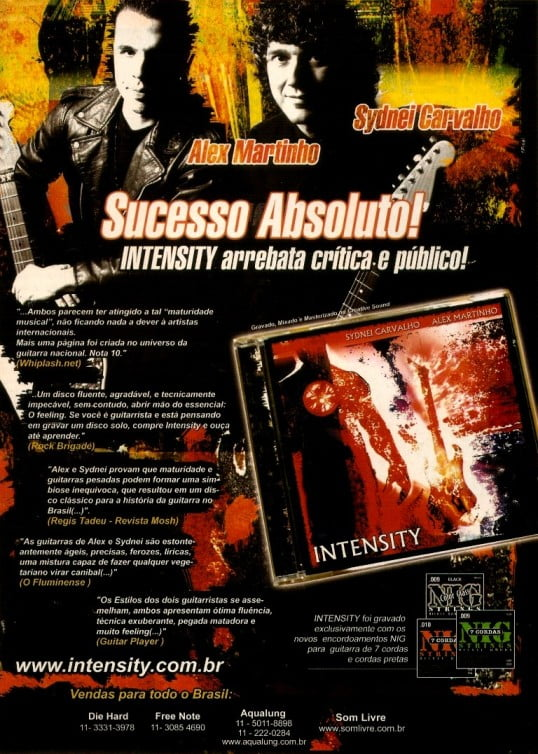 CD 'Intensity' (2004)